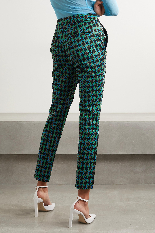 Diane von Furstenberg Carsen jacquard skinny pants