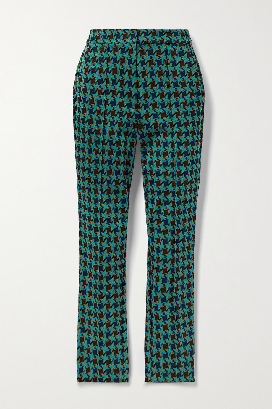 Diane von Furstenberg Pantalon skinny en jacquard Carsen