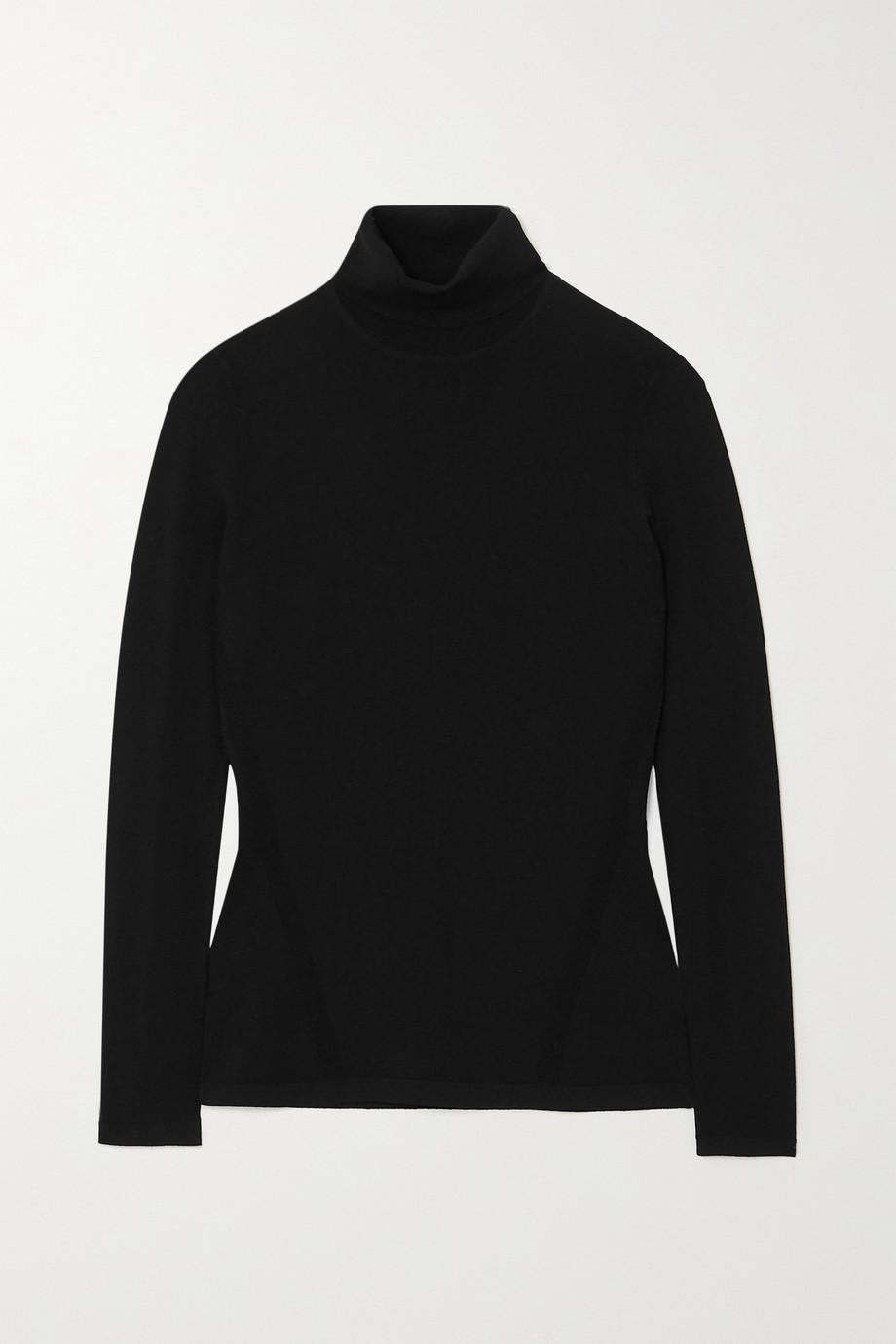 Diane von Furstenberg Jelena knitted turtleneck sweater
