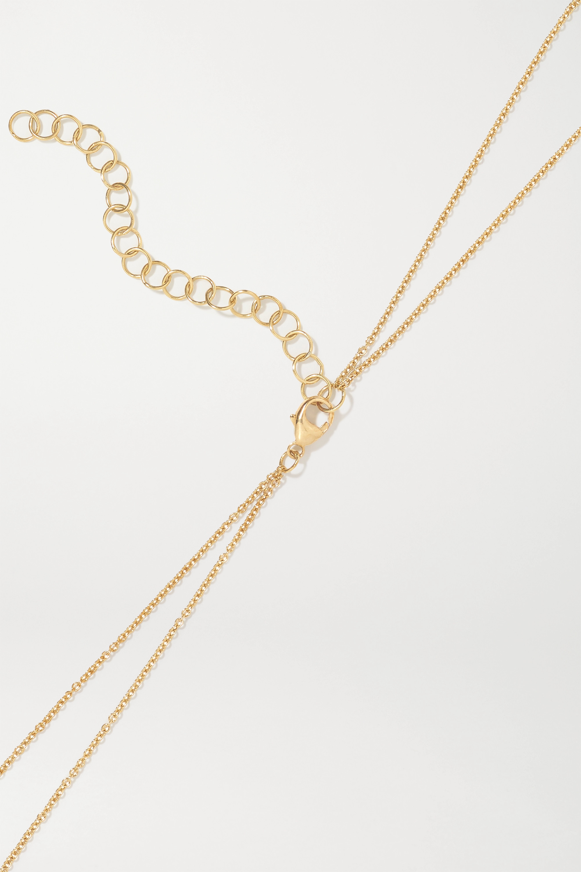 Kimberly McDonald 18-karat gold diamond body chain