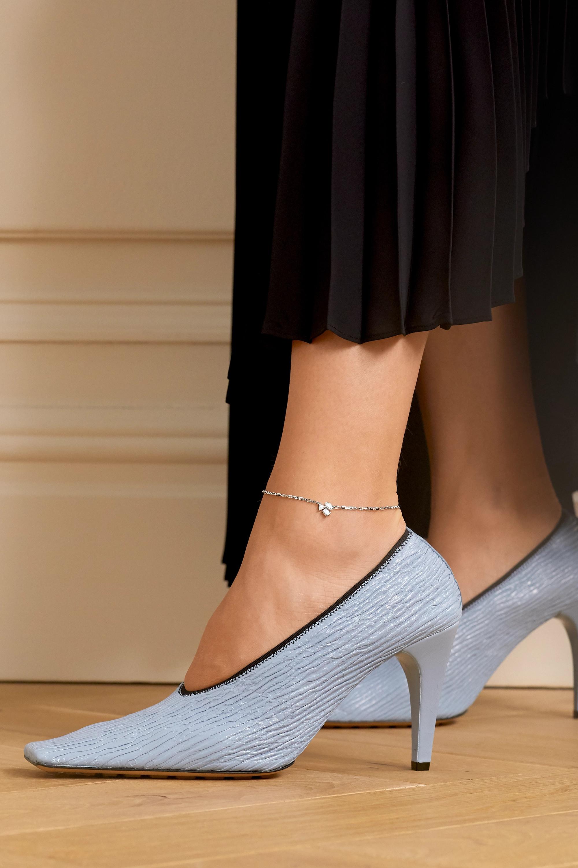 Kimberly McDonald 18-karat white gold diamond anklet