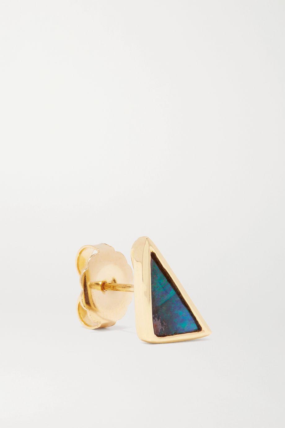 Kimberly McDonald 18-karat gold opal earrings