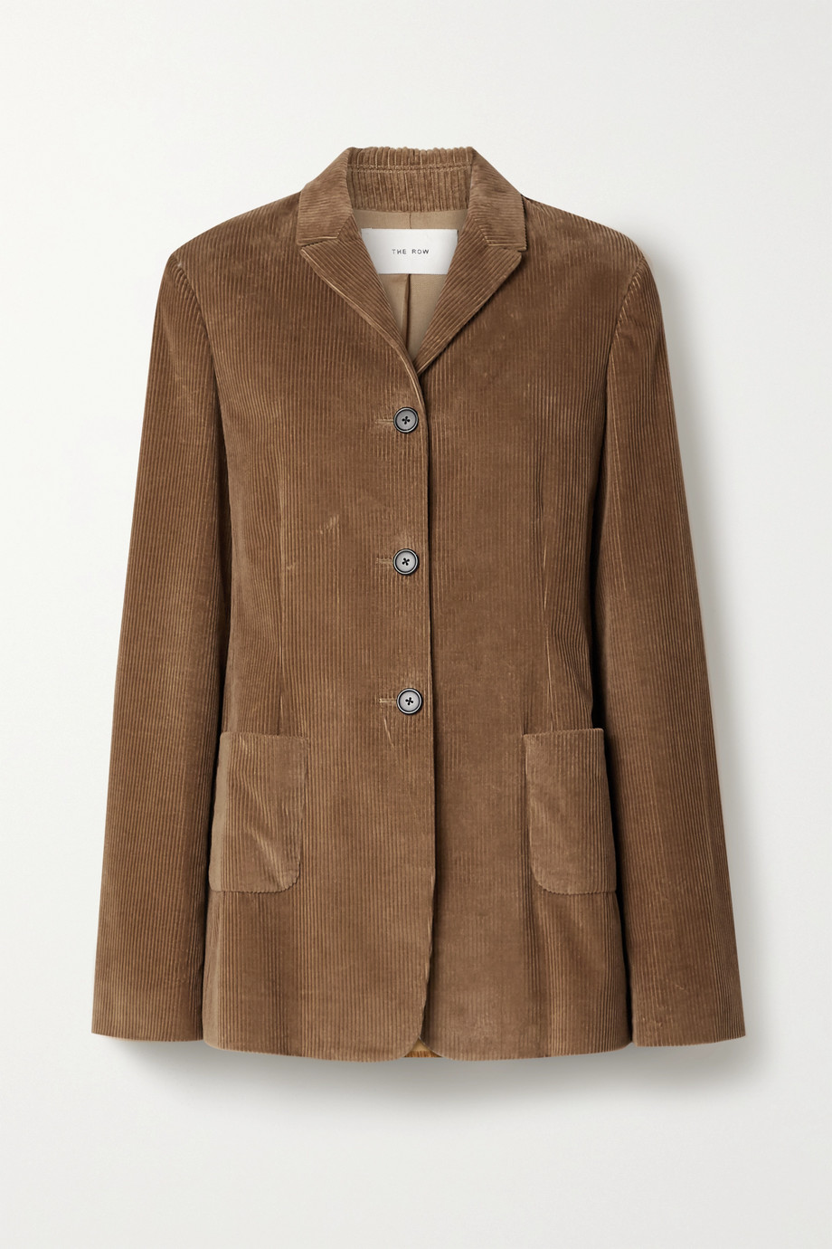 The Row Giedre cotton-corduroy jacket