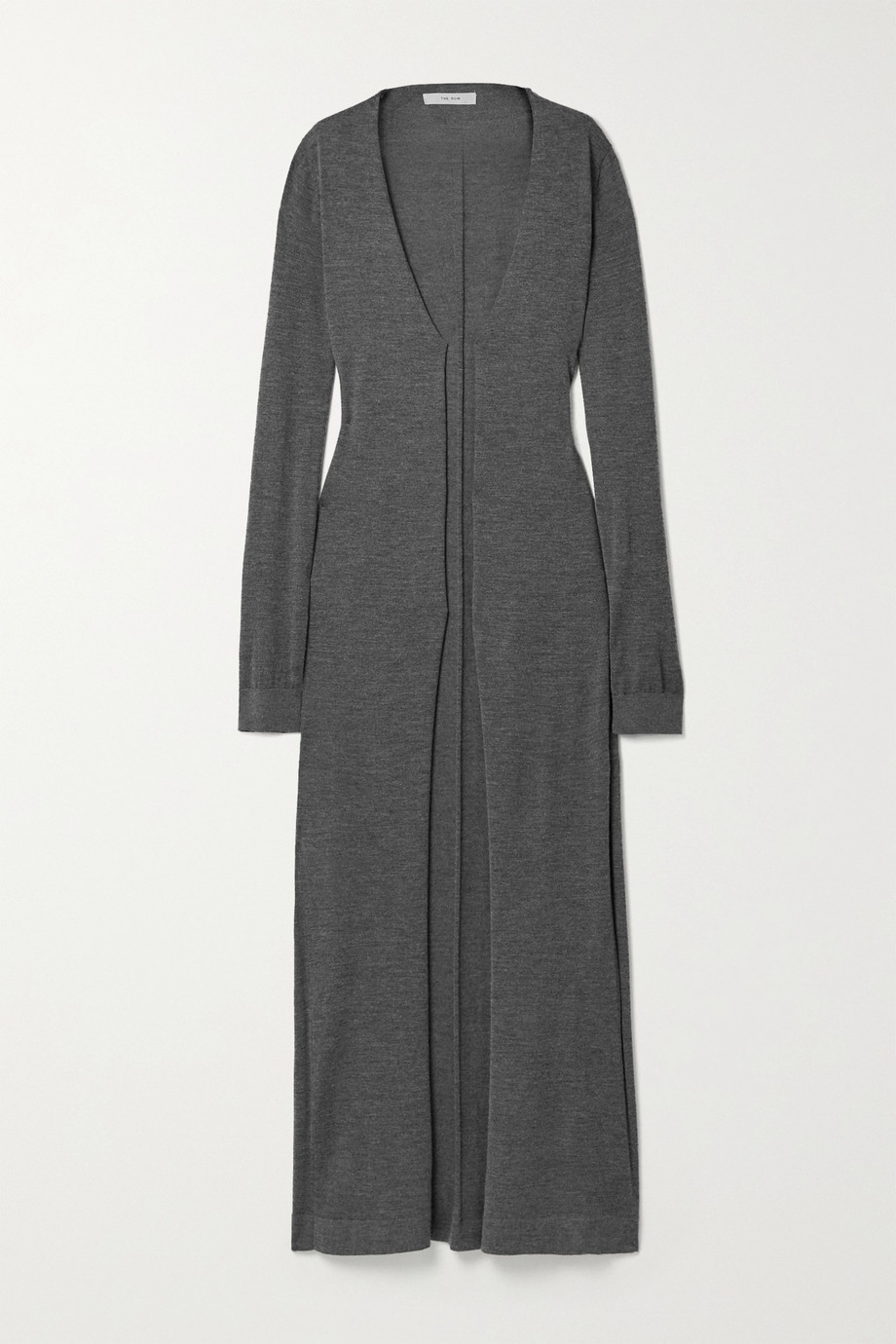 The Row Bayo cashmere and silk-blend cardigan