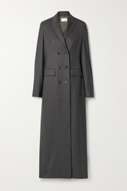 The Row Marleen double-breasted wool coat