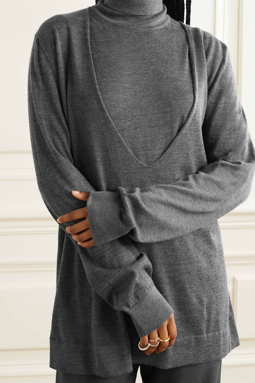 The Row Baba Oversized-Pullover aus einer Kaschmir-Seidenmischung