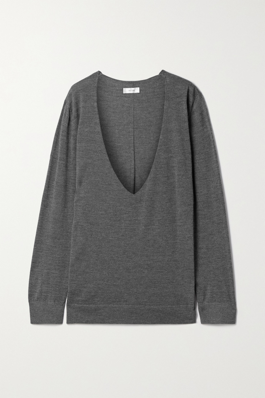The Row Baba oversized cashmere and silk-blend sweater
