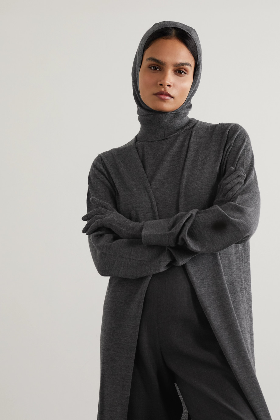 The Row Badu cashmere and silk-blend snood