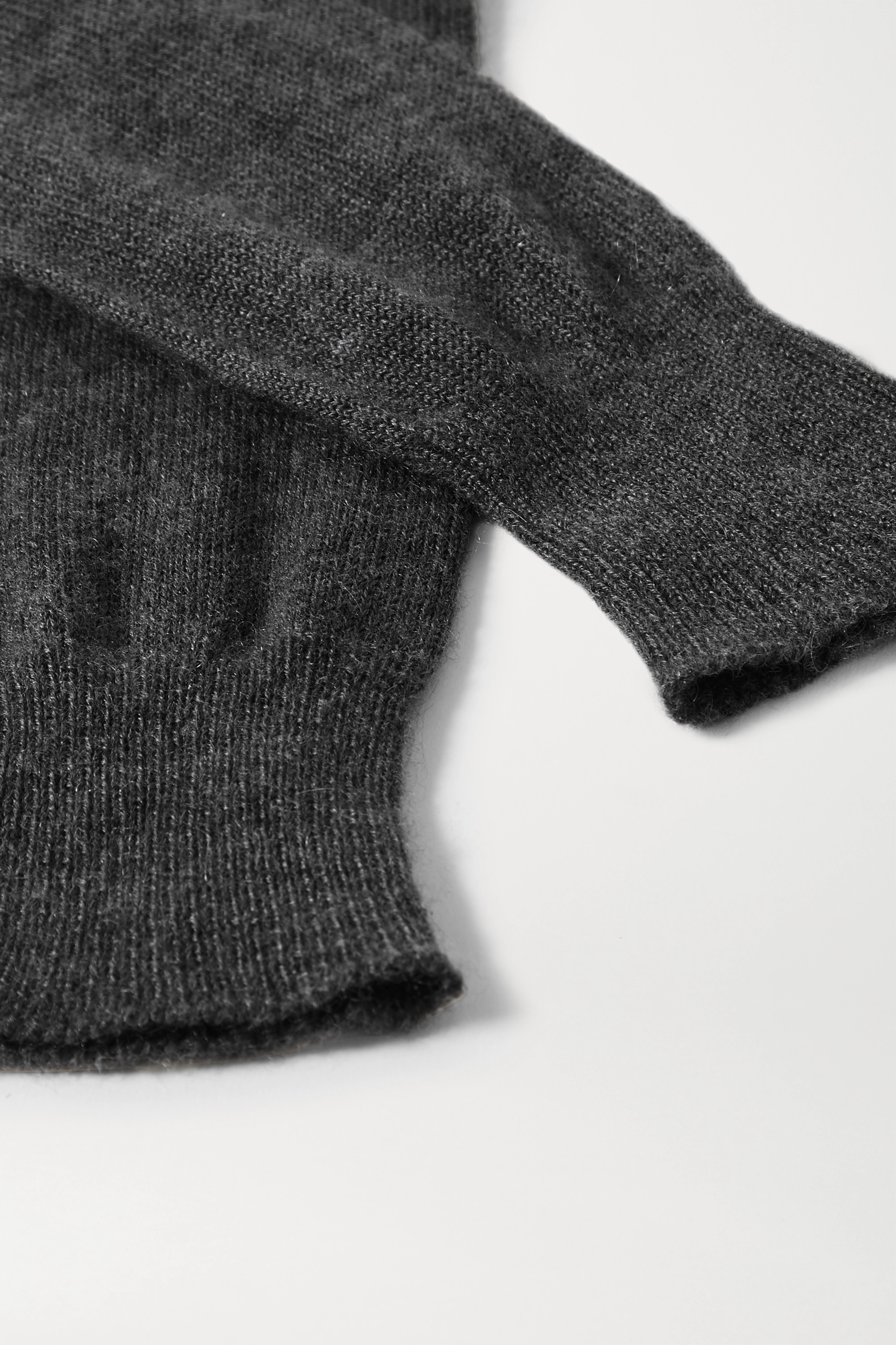 The Row Besede cashmere gloves