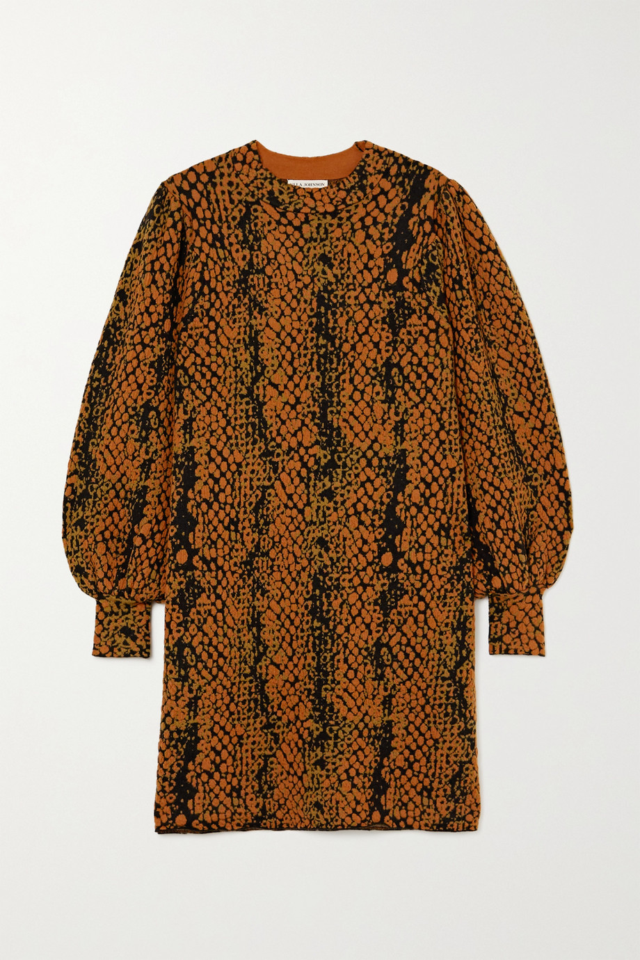 Ulla Johnson Mini-robe en laine jacquard Lina
