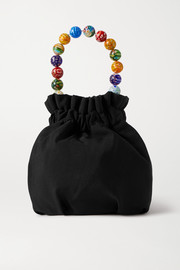STAUD Grace mini grosgrain bucket bag