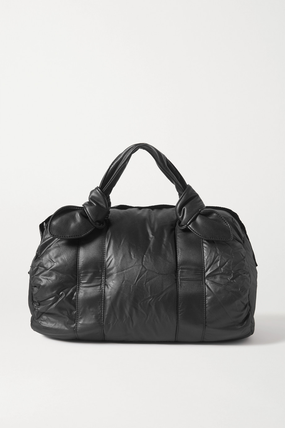 STAUD + New Balance quilted padded shell tote
