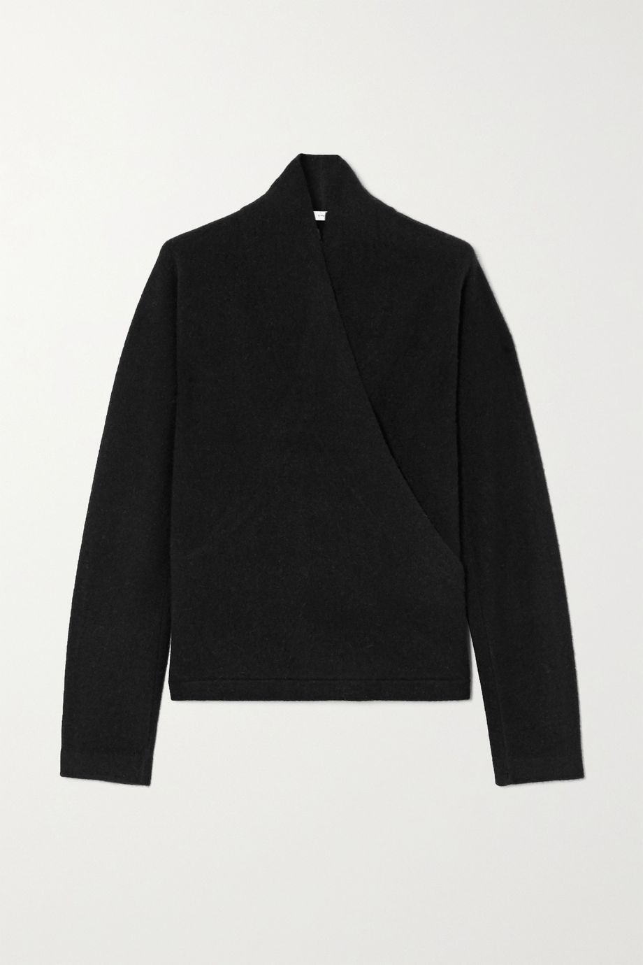 Vince Wrap-effect cashmere sweater