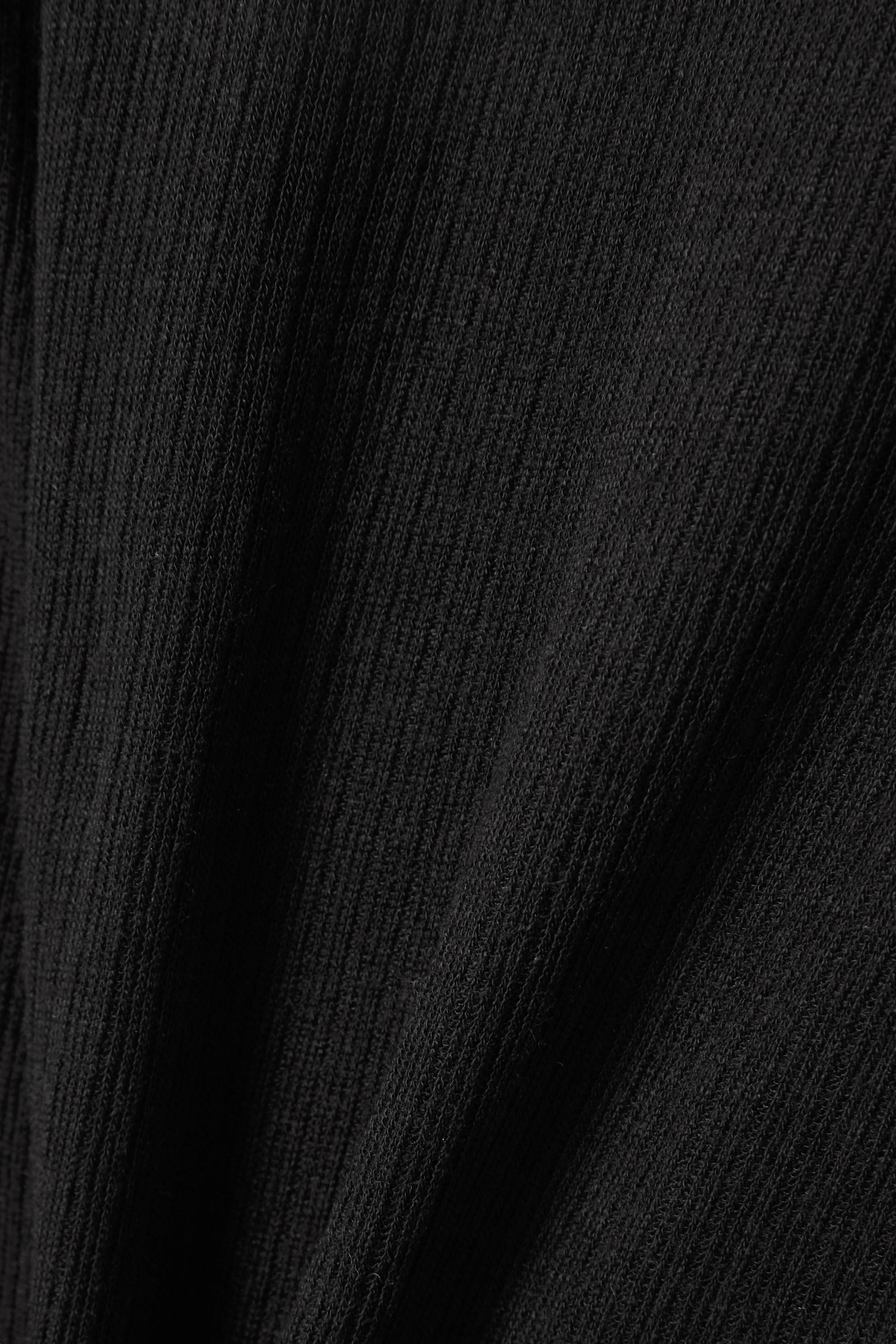 Vince Oberteil aus einer gerippten Tencel™-Wollmischung