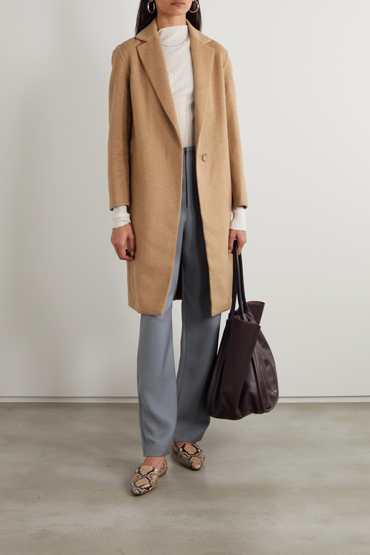 Classic Wool Blend Coat