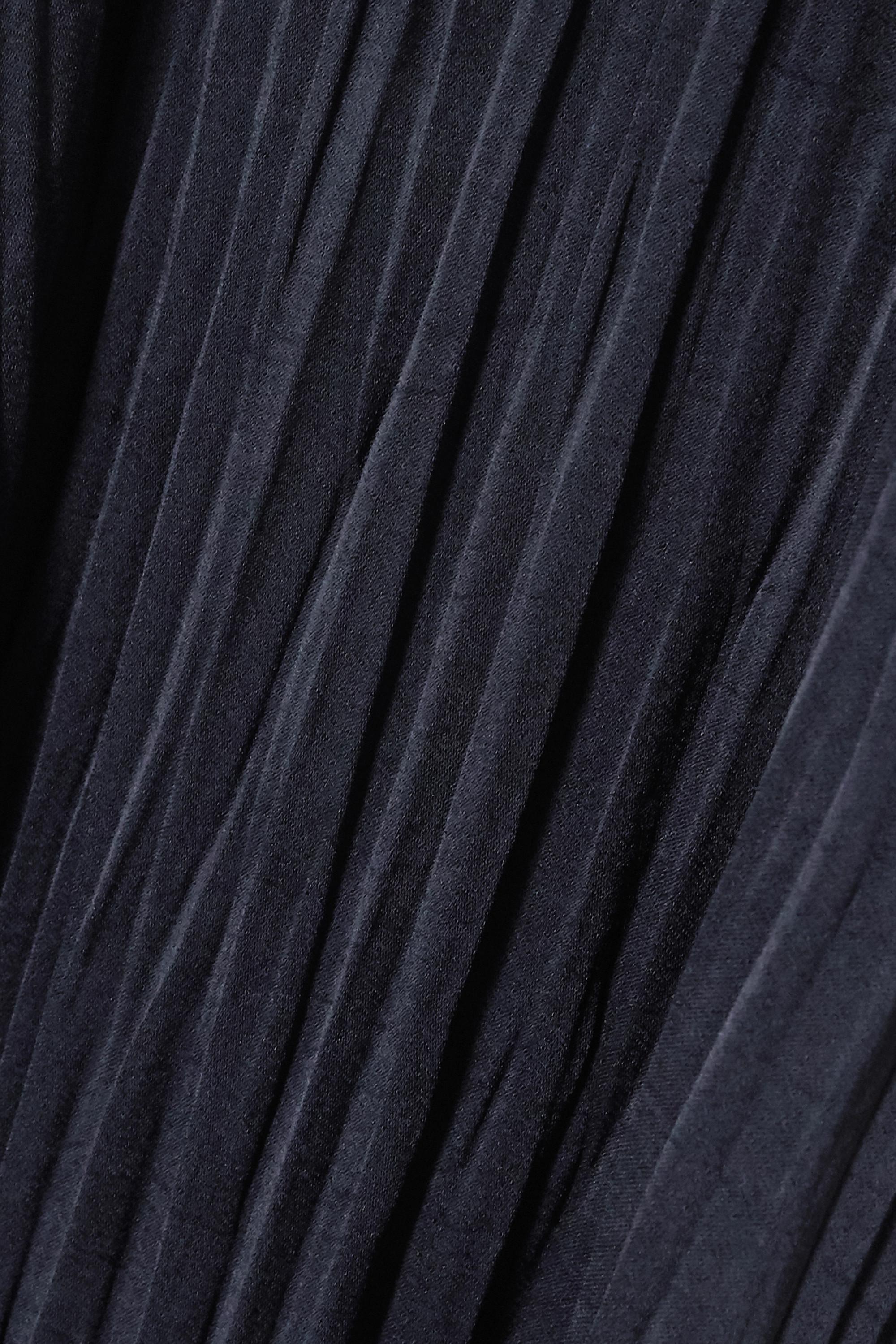 Vince Oberteil aus plissiertem Crêpe