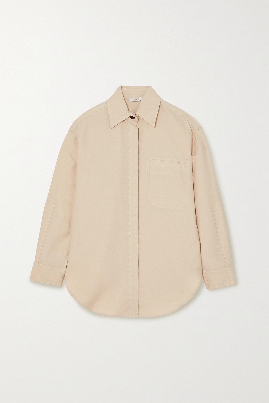 Vince Hemd aus Webstoff