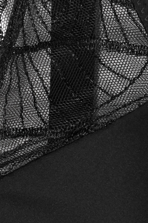 Maison Lejaby Jazz lace-trimmed stretch-jersey underwired bra