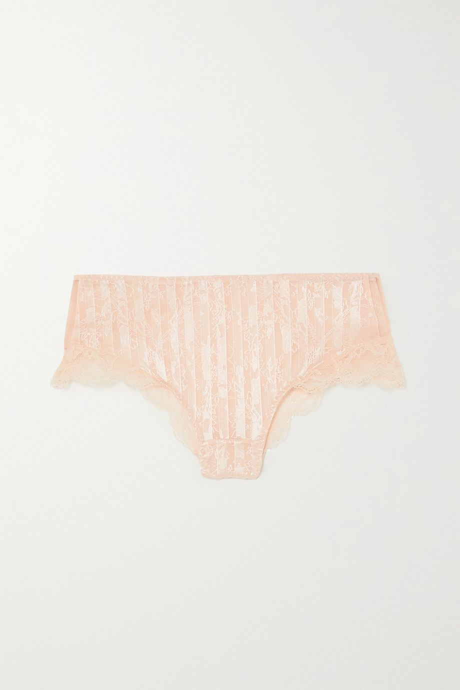 Maison Lejaby Embroidered stretch-tulle briefs