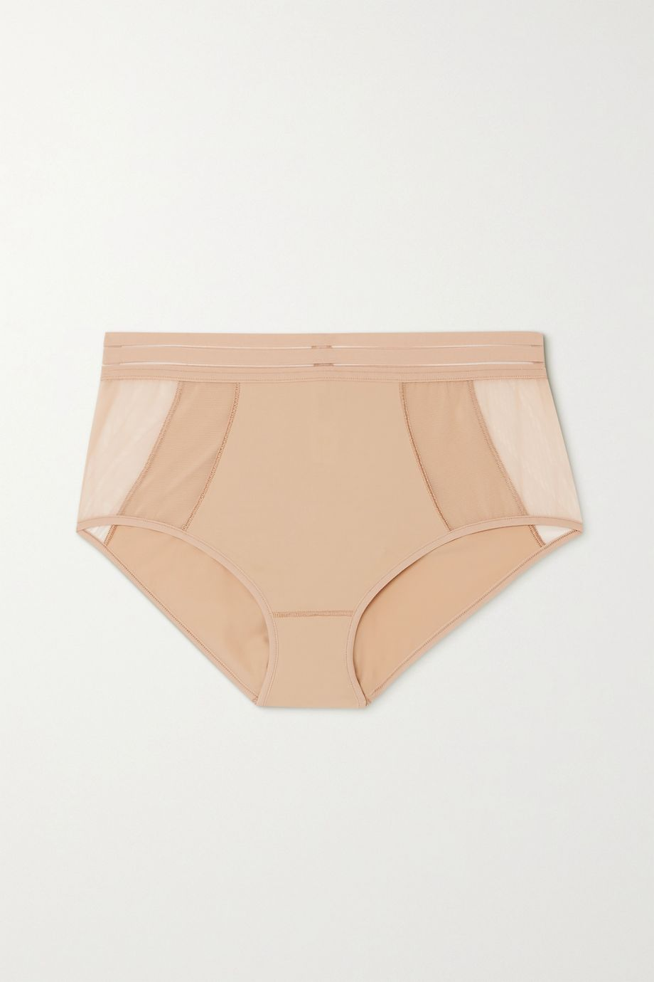 Maison Lejaby Nufit stretch-jersey and tulle briefs