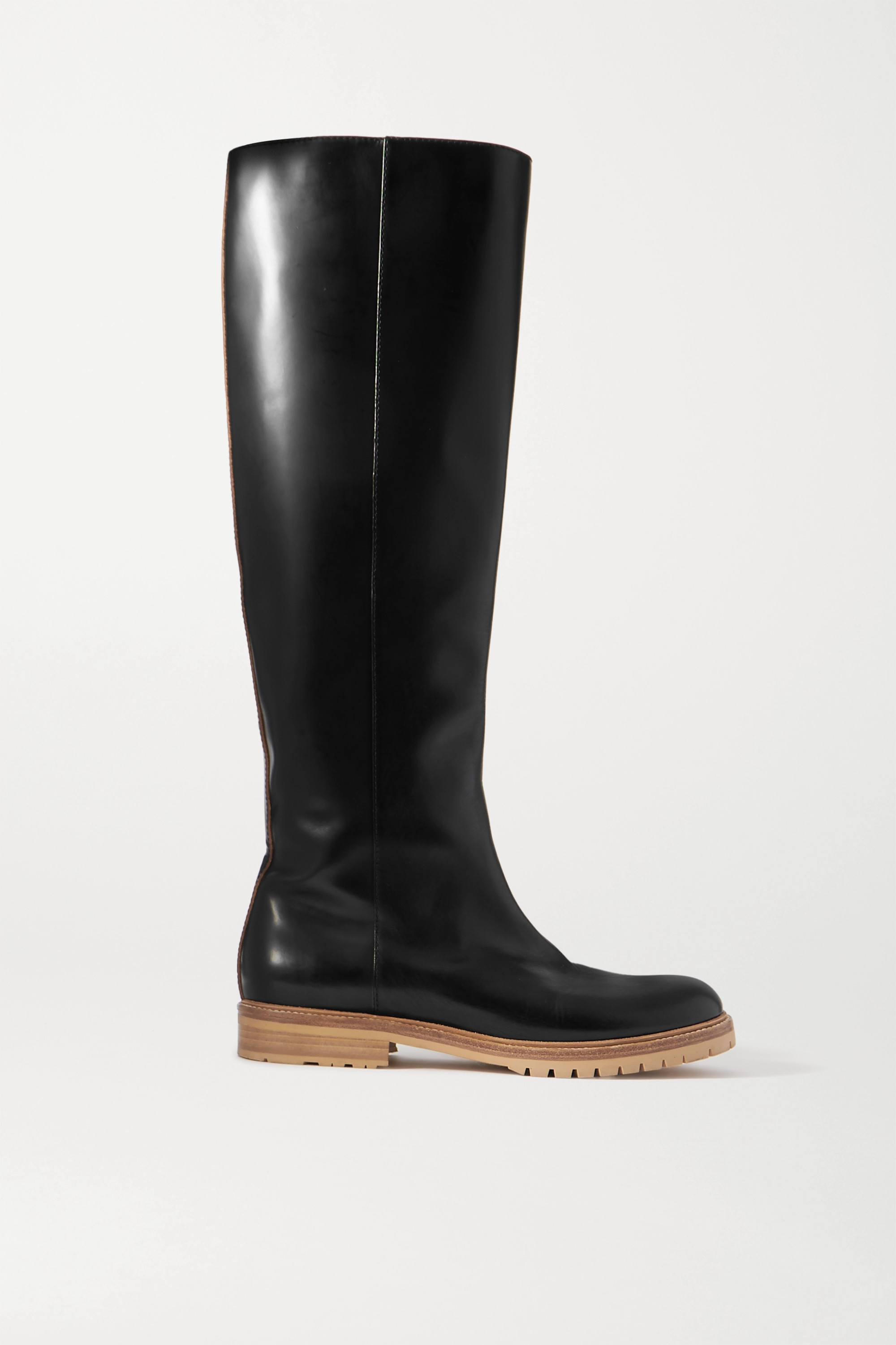 Gabriela Hearst Howard leather knee boots