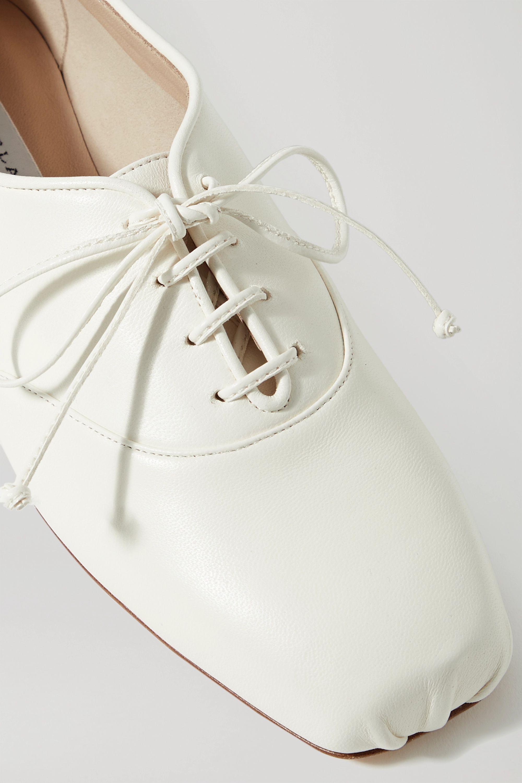 Gabriela Hearst Maya leather lace-up ballet flats