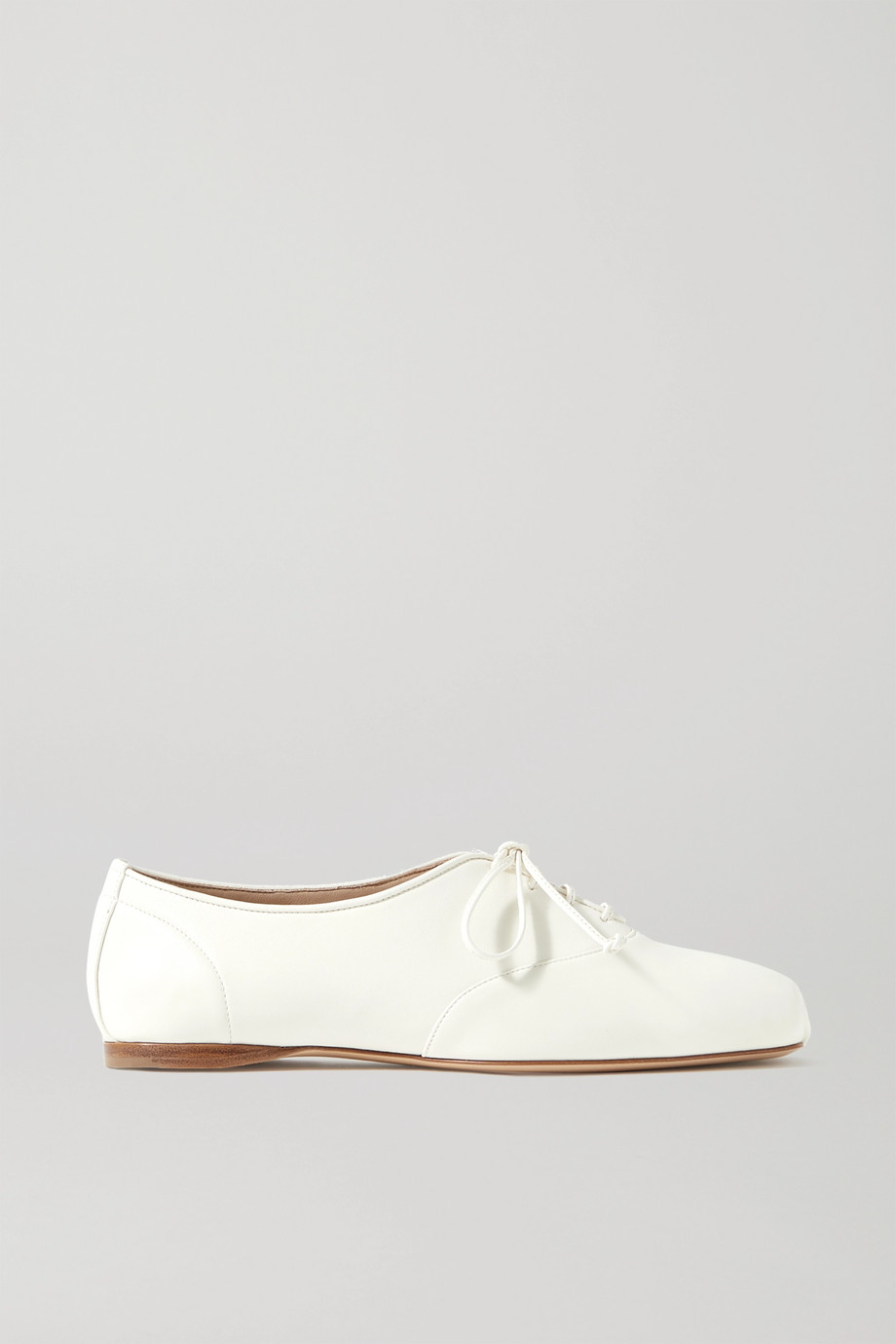 Gabriela Hearst Maya leather lace-up ballet flats