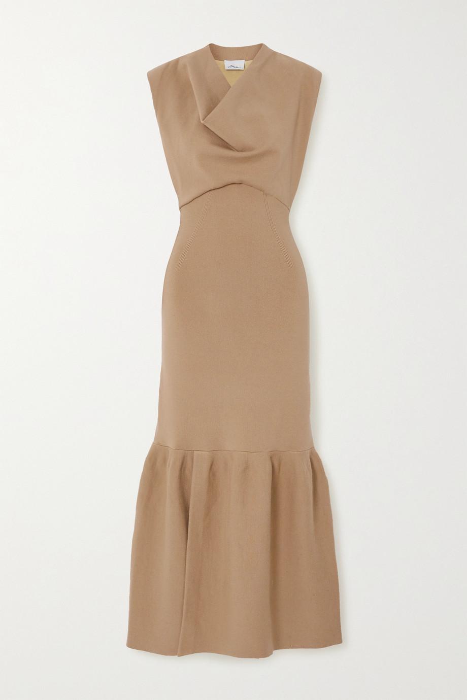 3.1 Phillip Lim Tiered wool-blend maxi dress