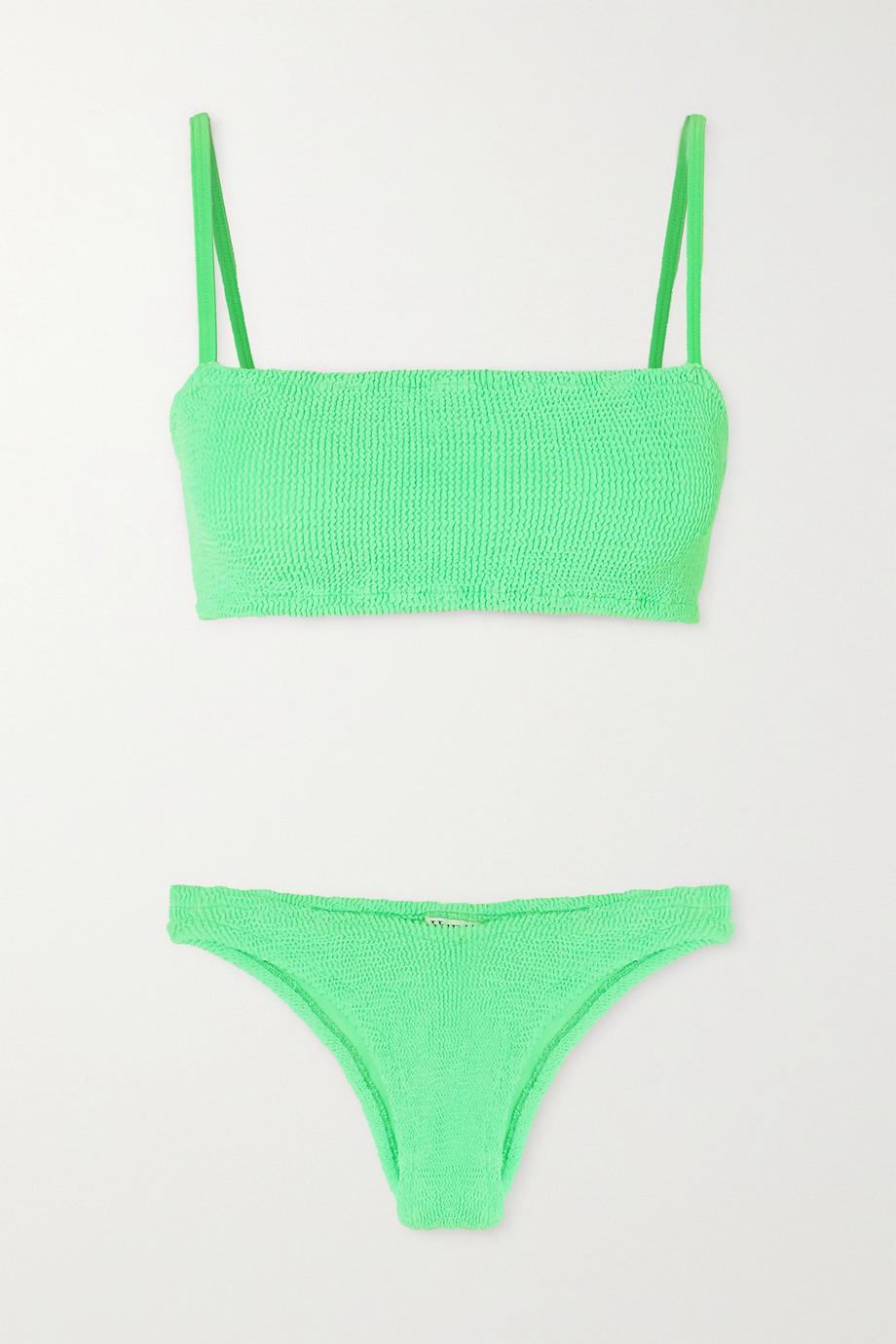 Hunza G Gigi seersucker bikini