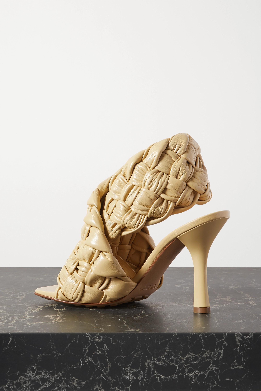 Bottega Veneta Slingback-Sandalen aus Intrecciato-Leder