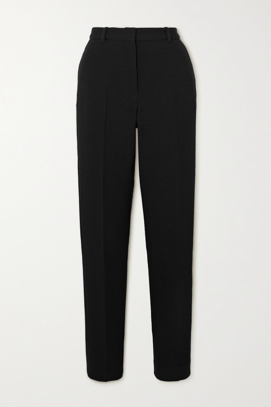 Rosetta Getty Wool-crepe tapered pants