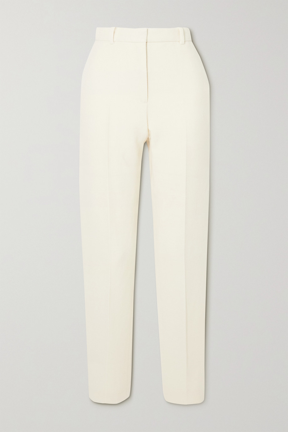 Rosetta Getty Wool-crepe tapered pants