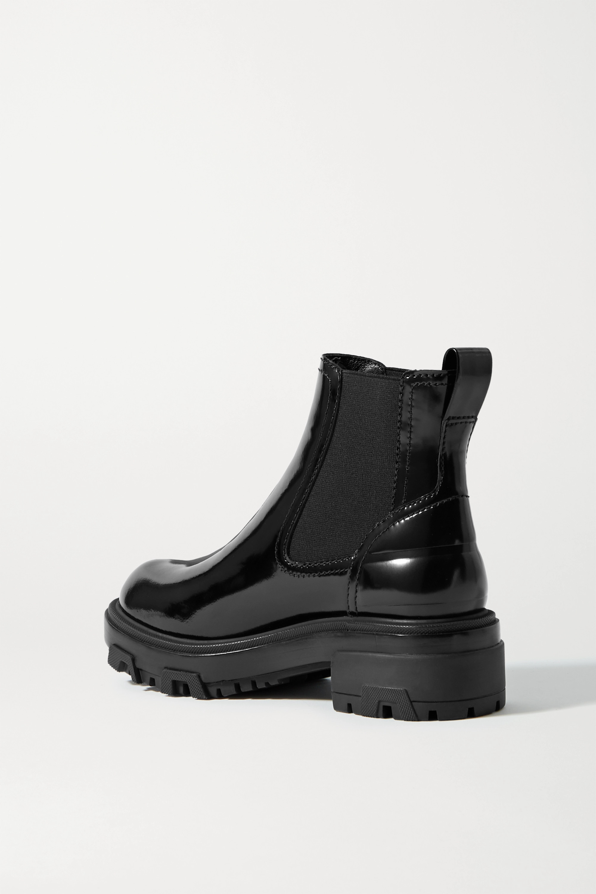 rag & bone Shaye patent-leather Chelsea boots