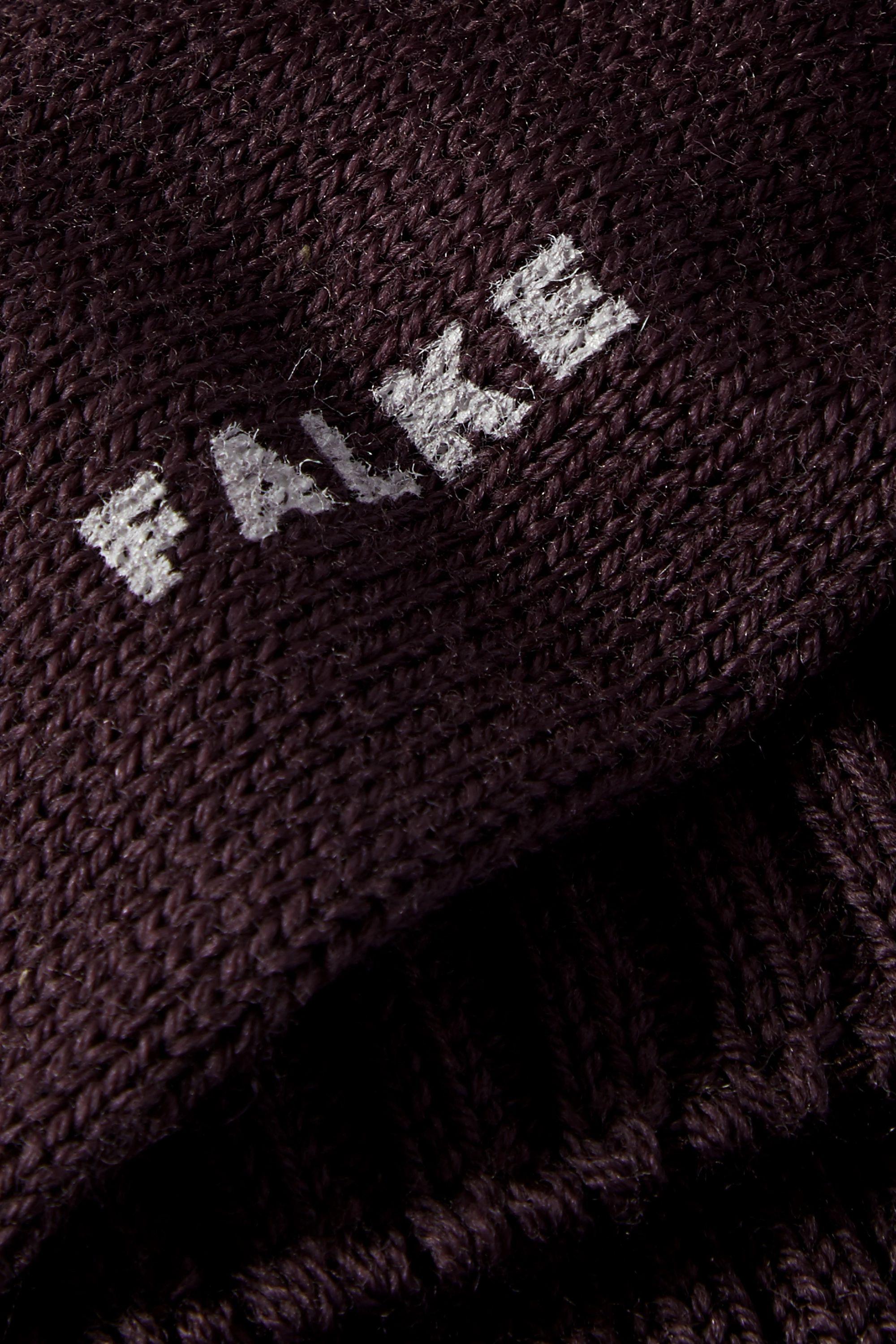 FALKE Ribbed wool-blend socks