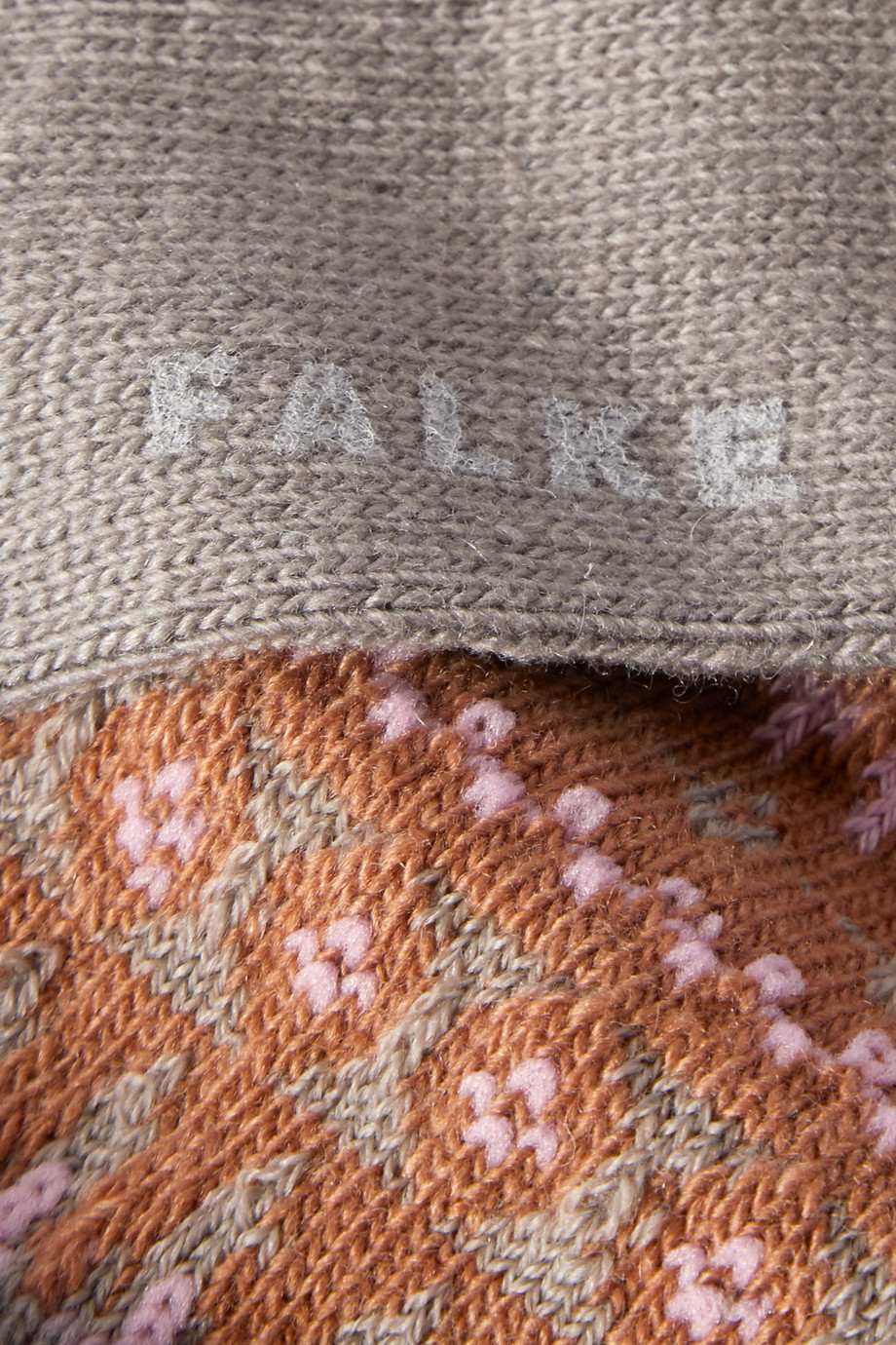 FALKE Fjord Socken aus Jacquard-Strick