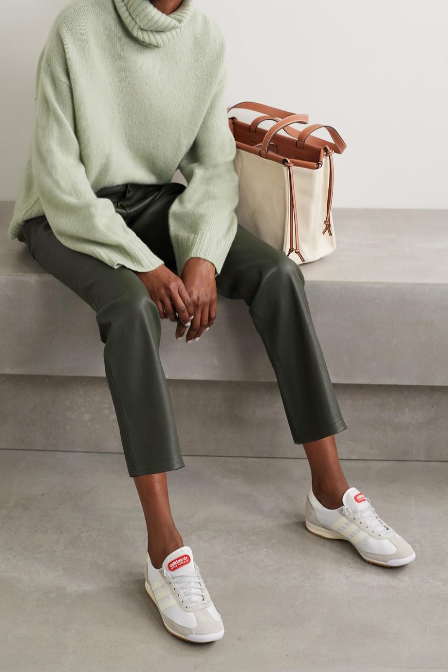 APIECE APART Vester oversized convertible cashmere and silk-blend turtleneck sweater