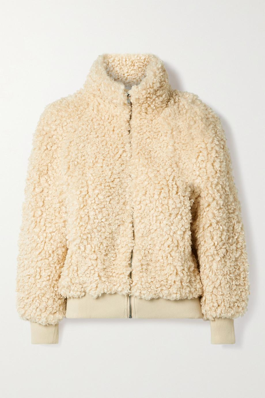 APIECE APART Sienta faux shearling jacket
