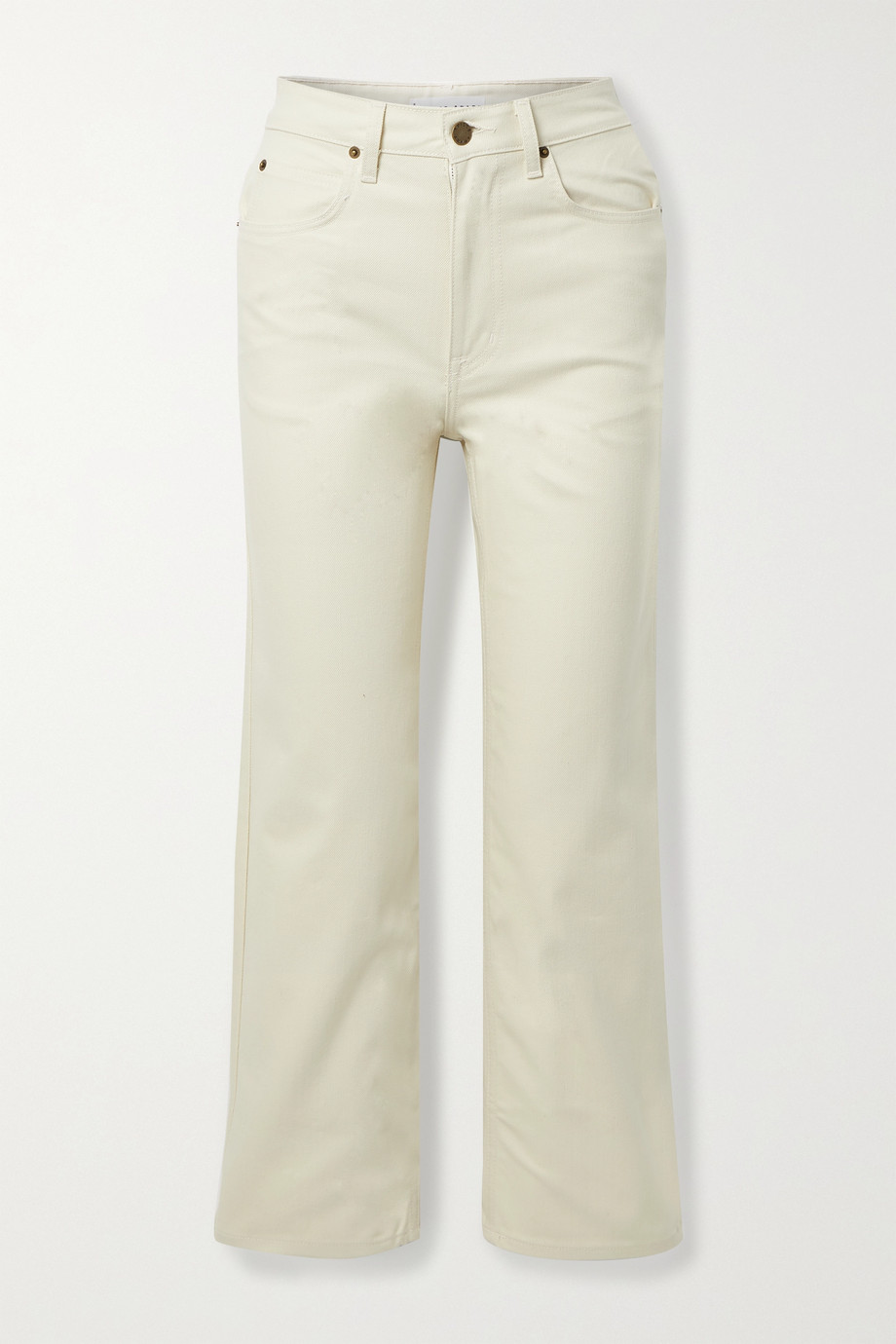 APIECE APART Highway 1 high-rise straight-leg jeans