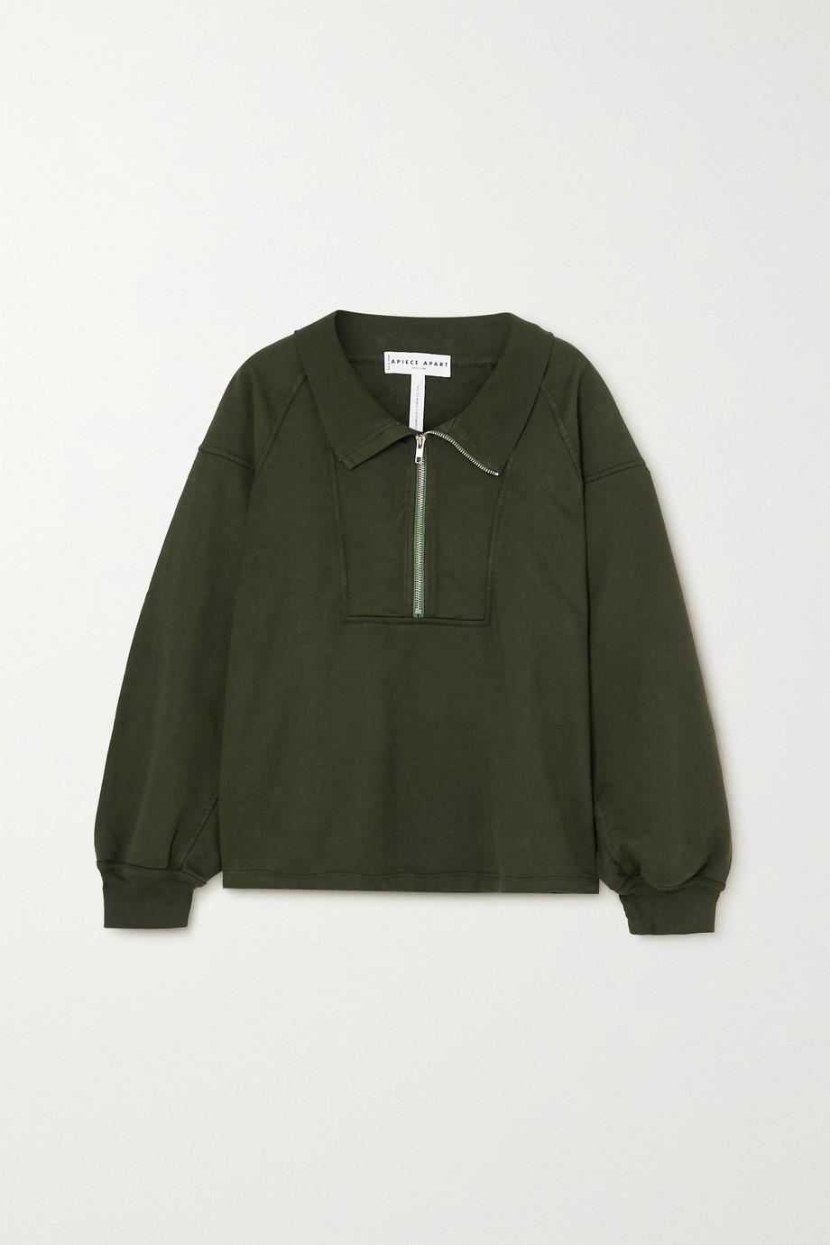 APIECE APART Jag organic cotton-jersey sweatshirt