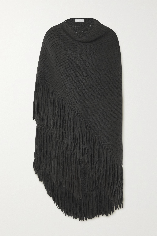 Gabriela Hearst Lauren fringed cashmere wrap
