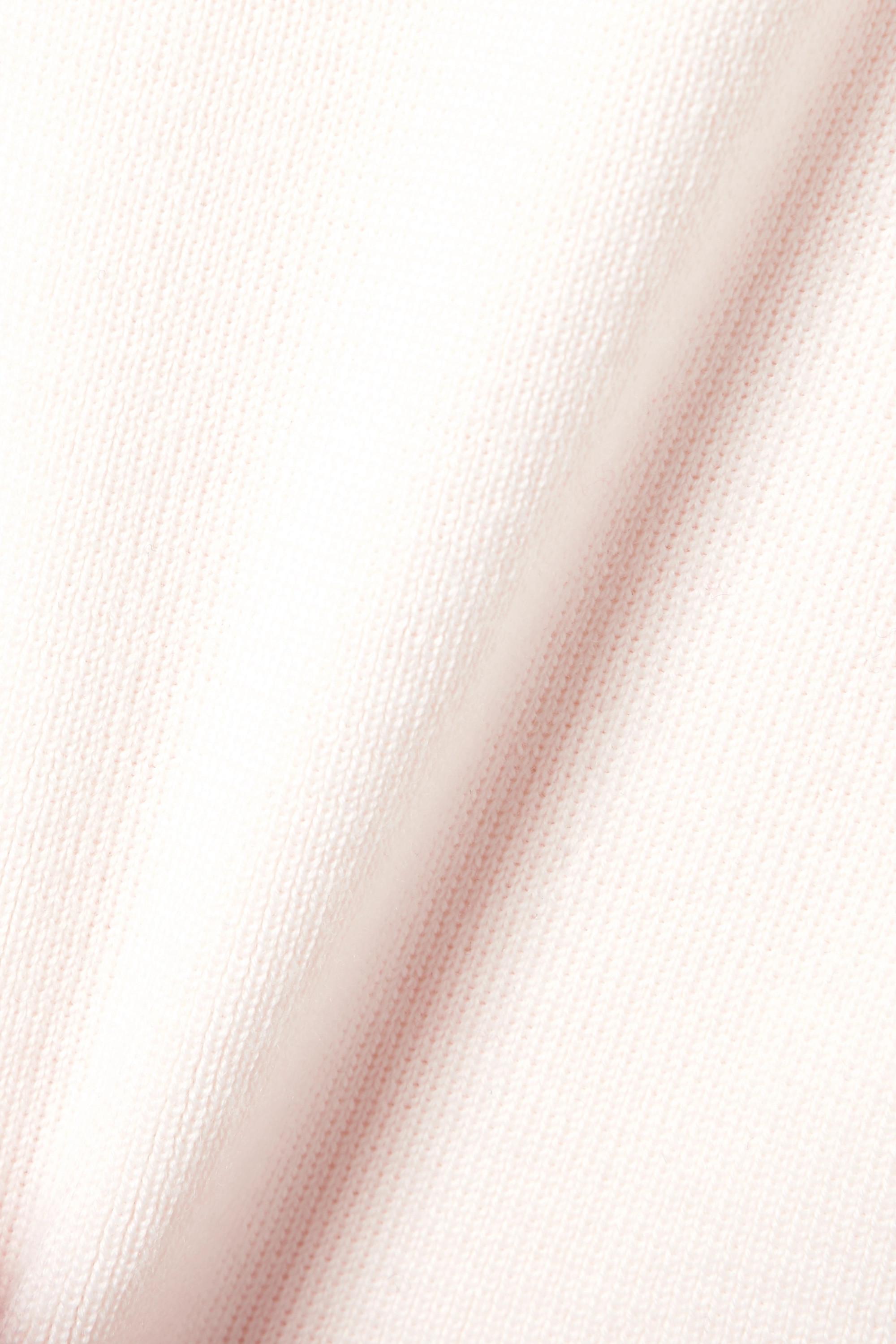 Ivory Cutout Merino Wool Turtleneck Sweater   Monse
