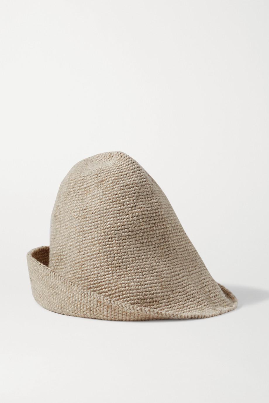 Lauren Manoogian Bell 羊毛亚麻混纺帽子