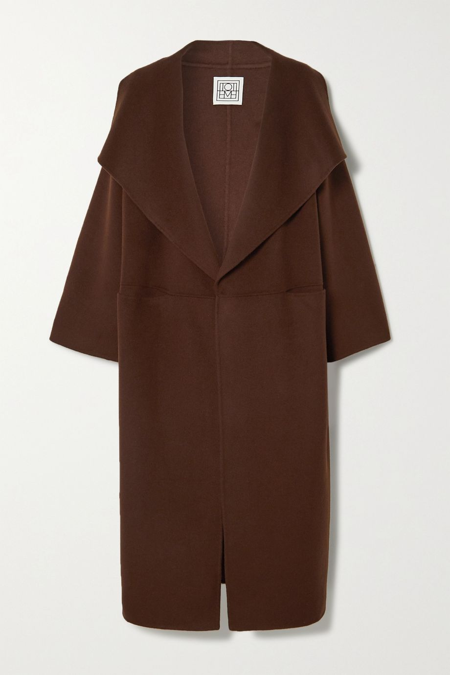 Totême Annecy wool and cashmere-blend coat