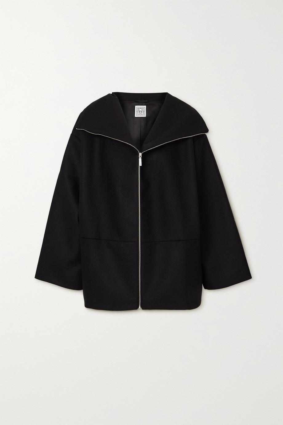 Totême Menfi wool-blend coat