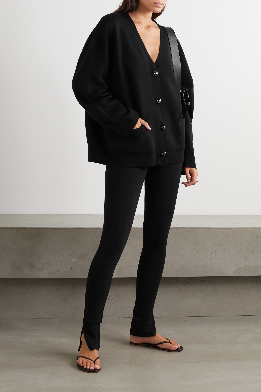 Totême Cork stretch-crepe skinny pants