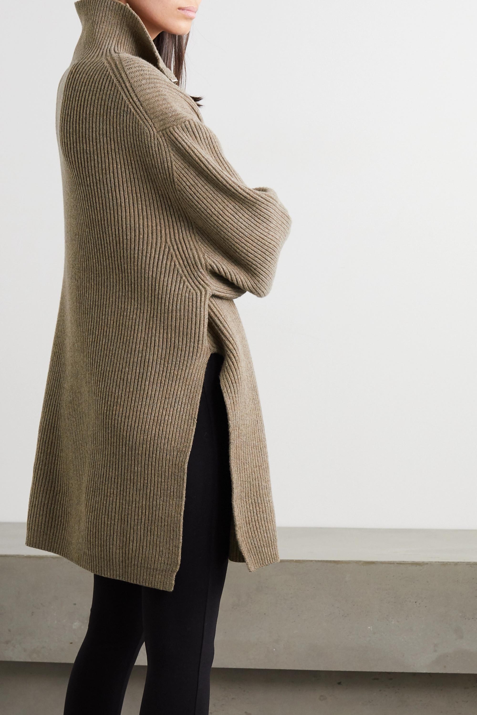 Totême Tomar ribbed wool-blend turtleneck sweater