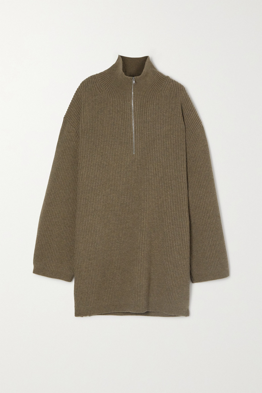 Totême Tomar ribbed wool-blend turtleneck sweater