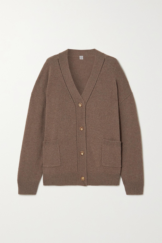 Totême Langre cashmere and wool-blend cardigan