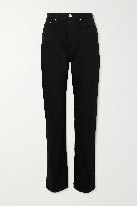 Totême Ease high-rise straight-leg jeans