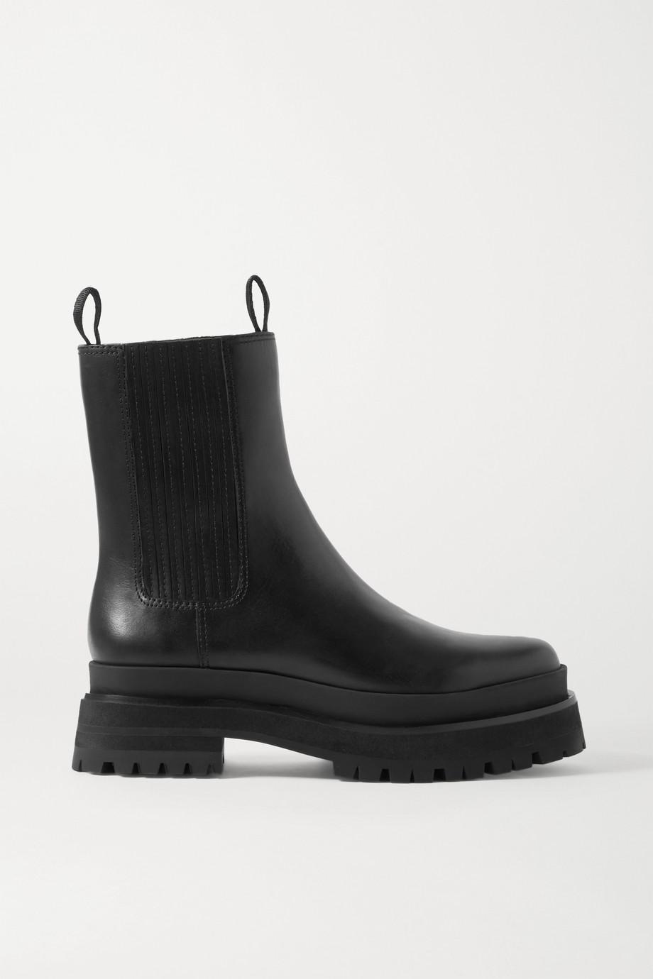 Loeffler Randall Toni 皮革切尔西靴